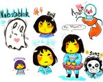 Undertale Sketchdump by WhatItMeansToBeHuman