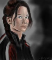 Katniss 30-Minute Sketch by jokerproduct