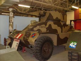 AEC armoured car Mk II, tank museum by drshaggy