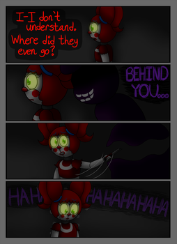 FNAF SL Comic: A Animatronic's Demise Pg 15 by superpinkygirl101