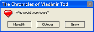 Another Chronicles of Vladimir Tod Error Message by Booksmusicme