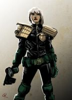 Judge Anderson by klaatu81