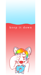 keep it down by aisu-isme
