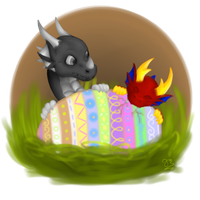 Happy Easter by Sintarija