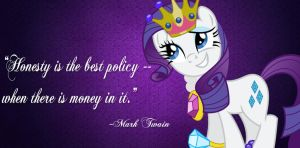 Rarity: Honesty is the best when... by Paris7500