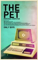 Commodore PET by Hajdarevic