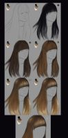very simple hair tutorial by vanellia