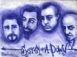system of a down by Snezhana