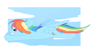 Rainbow Dash by Thunderclap12