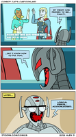 Ultron's Vision by Doodley