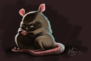 Bad Rat by MrTomLong