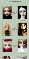 Doll Changes Meme update august 2012 by kamarza