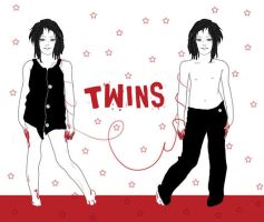 Twins by Dacara