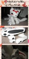 Chibiterasu Plush by kitties-toothy-grin