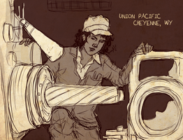 Union Pacific by boscaresque
