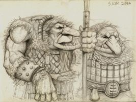 Mountain Troll by Kimsuyeong81