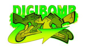 DIGIBOMB by SikWidInk