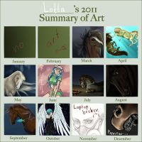 Summary of art, 2011 by Lolilith