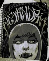 Sketch Book Cover by infectedNcontagious