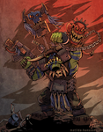 WAAAGH! by NorthWing