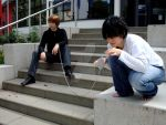 Death Note - Light and L I by Sakiko-Seihikaru