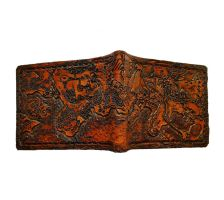 Map of Johoto and kanto leather wallet. by Bubblypies