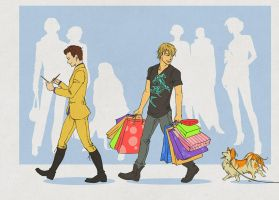 Shopping in New York by Elruu