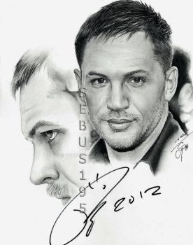 Tom Hardy by sebus195