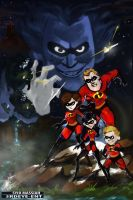 The Incredibles: Return of Syndrome by DiceNwn