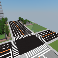 Large road intersection by MatthewGo707