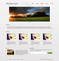 Web Design #1 by Fr1X