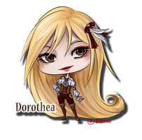 ADOPTABLE CHARACTER - Dorothea (closed) by Ritusss