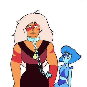 Jasper and Lapis by weidy04