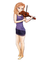A Violin With No Hands by Amerikat
