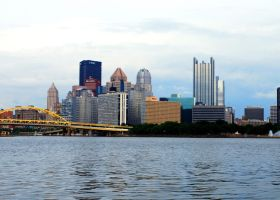 Pittsburgh on the 3 Rivers by SoCallMeNothing