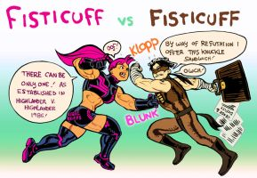 Fisticuff vs Fisticuff: Legal Battle! by Jebriodo