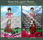 Draw this Again MEME! by CrazyAndHyper