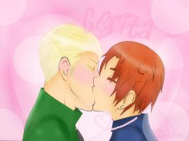 Gerita Love Kiss /Arttrade/ by Cheni-chan