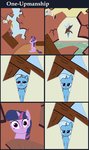 One-Upmanship by ponypie