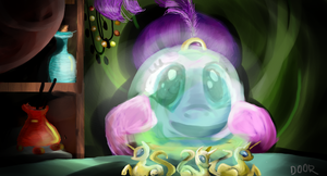 Madame Pinkie's mystical orb of fate's destiny by maybecatie