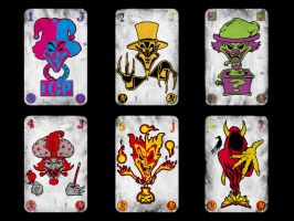 Jokers Cards by XRayTheClown