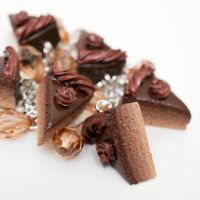 Chocolate cake bracelet closeup by FrozenNote