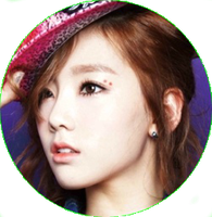 TAEYEON SNSD [CIRCLE PNG] by PowerBerry10