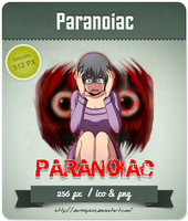 Paranoiac - RPG Icon by Darklephise