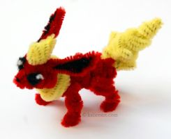 Flareon Pipe Cleaners by kalicothekat