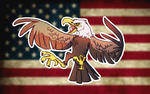 The land of the free and the home of the brave by Zerda-Fox