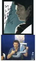 Karl Urban and Painting by jeminabox