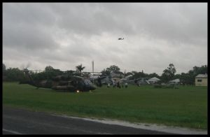 Evac Choppers at Hospital by RedtailFox