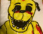 Napkin: Golden Freddy by Lord4536