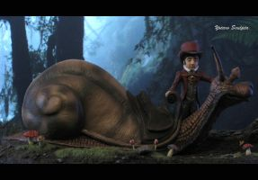 The Neverending Story Teeny Weeny Racing Snail 2 by yotaro76